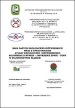 Atlas geologiczno-inżynierski Rybnika - opracowanie