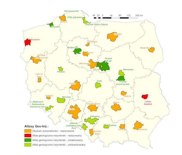 Atlasy geologiczno-inżynierskie