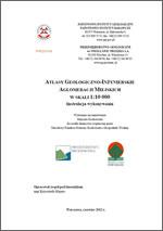Atlasy geologiczno-inżynierskie aglomeracji miejskich w skali 1:10 000 - Instrukcja wykonania