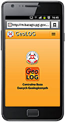 Screen 1 from application GeoLOG