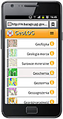 Screen 3 from application GeoLOG