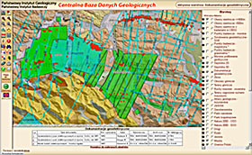 Geographic viewer (GIS) CBDG