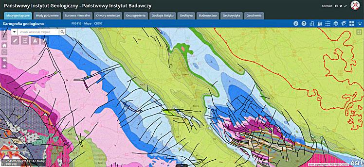 Spatial Data Portal GEOLOGIA