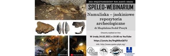 Speleo-webinarium - Namuliska link do youtube