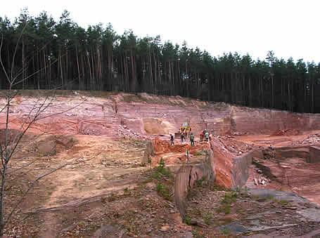 Kamieniołom piaskowców dolnotriasowych Tumlin Gród