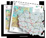Mapa geośrodowiskowa Polski