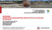 Aktualia i perspektywy gospodarki surowcami mineralnymi