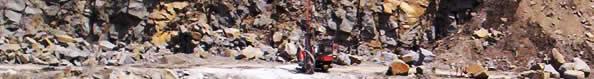 Rock raw materials