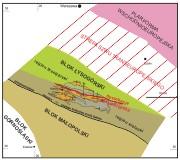 Szkic tektoniczny południowo-wschodniej Polski
