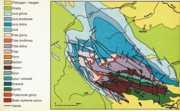 Mapa geologiczna Gór Świętokrzyskich