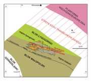 Szkic tektoniczny południowowschodniej Polski