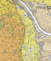 mapa geologiczna Warszawy 2