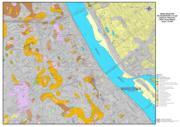 mapa gruntów na głębokości 2 m p.p.t. Stare i Nowe Miasto