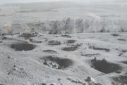 """""""Pole Księżycowe"""" – zagłębienia po powierzchniowej eksploatacji rud miedzi na południowo-zachodnim skłonie Góry Miedziaka – połowa lat 50-tych XX wieku"""