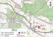 Mapa dojazdu do kamieniołomu w Zachełmiu